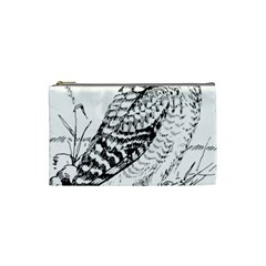 Animal Bird Forest Nature Owl Cosmetic Bag (small)
