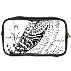 Animal Bird Forest Nature Owl Toiletries Bags 2 Side