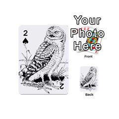 Animal Bird Forest Nature Owl Playing Cards 54 (mini)
