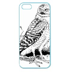 Animal Bird Forest Nature Owl Apple Seamless Iphone 5 Case (color)