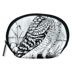 Animal Bird Forest Nature Owl Accessory Pouches (medium)