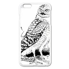 Animal Bird Forest Nature Owl Apple Iphone 6 Plus/6s Plus Enamel White Case