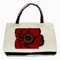 Floral Flower Petal Plant Basic Tote Bag (two Sides)