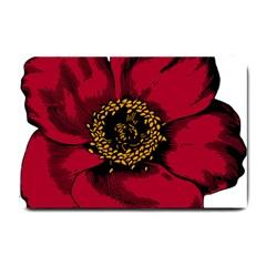 Floral Flower Petal Plant Small Doormat