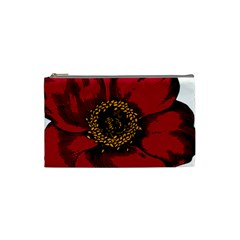 Floral Flower Petal Plant Cosmetic Bag (small)