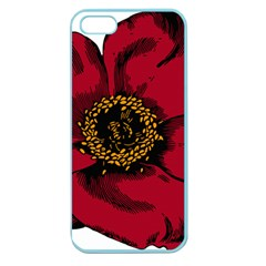 Floral Flower Petal Plant Apple Seamless Iphone 5 Case (color)