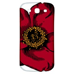 Floral Flower Petal Plant Samsung Galaxy S3 S Iii Classic Hardshell Back Case