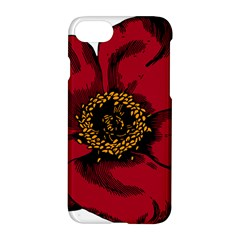 Floral Flower Petal Plant Apple Iphone 7 Hardshell Case by Nexatart