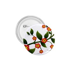 Flower Branch Nature Leaves Plant 1 75  Buttons