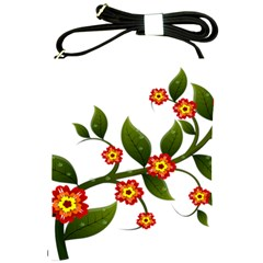Flower Branch Nature Leaves Plant Shoulder Sling Bags