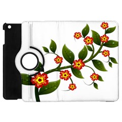 Flower Branch Nature Leaves Plant Apple Ipad Mini Flip 360 Case