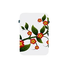 Flower Branch Nature Leaves Plant Apple Ipad Mini Protective Soft Cases
