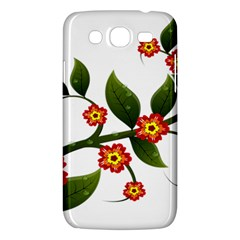 Flower Branch Nature Leaves Plant Samsung Galaxy Mega 5 8 I9152 Hardshell Case