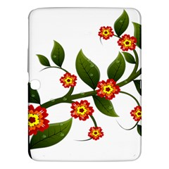 Flower Branch Nature Leaves Plant Samsung Galaxy Tab 3 (10 1 ) P5200 Hardshell Case