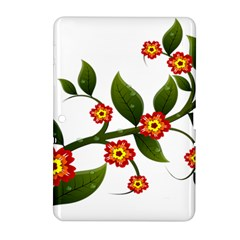 Flower Branch Nature Leaves Plant Samsung Galaxy Tab 2 (10 1 ) P5100 Hardshell Case