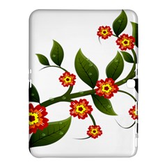Flower Branch Nature Leaves Plant Samsung Galaxy Tab 4 (10 1 ) Hardshell Case