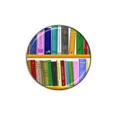Shelf Books Library Reading Hat Clip Ball Marker (10 Pack)