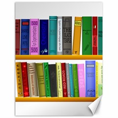 Shelf Books Library Reading Canvas 18  X 24