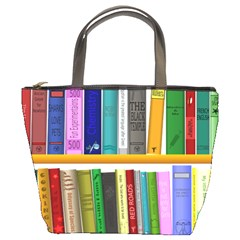Shelf Books Library Reading Bucket Bags