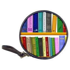 Shelf Books Library Reading Classic 20 Cd Wallets