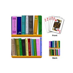 Shelf Books Library Reading Playing Cards (mini)