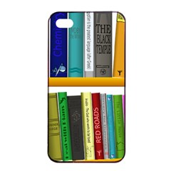 Shelf Books Library Reading Apple Iphone 4/4s Seamless Case (black)