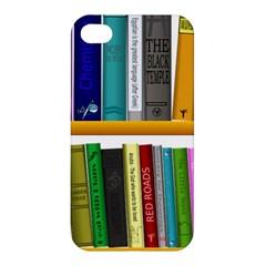 Shelf Books Library Reading Apple Iphone 4/4s Premium Hardshell Case