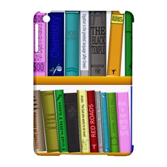 Shelf Books Library Reading Apple Ipad Mini Hardshell Case (compatible With Smart Cover)