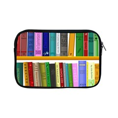 Shelf Books Library Reading Apple Ipad Mini Zipper Cases by Nexatart