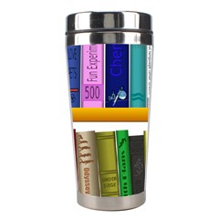 Shelf Books Library Reading Stainless Steel Travel Tumblers