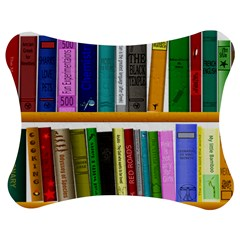 Shelf Books Library Reading Jigsaw Puzzle Photo Stand (bow)