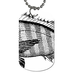 Animal Fish Ocean Sea Dog Tag (two Sides)