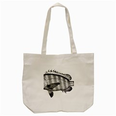 Animal Fish Ocean Sea Tote Bag (cream)