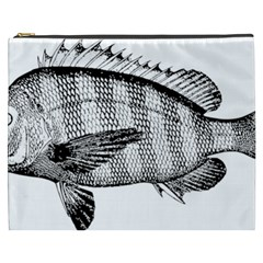 Animal Fish Ocean Sea Cosmetic Bag (xxxl)