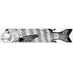 Animal Fish Ocean Sea Large Flano Scarf