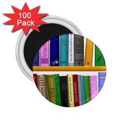 Shelf Books Library Reading 2 25  Magnets (100 Pack)