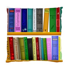 Shelf Books Library Reading Standard Cushion Case (two Sides)