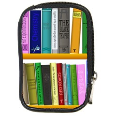 Shelf Books Library Reading Compact Camera Cases