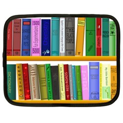 Shelf Books Library Reading Netbook Case (xl)
