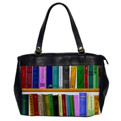 Shelf Books Library Reading Office Handbags