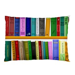 Shelf Books Library Reading Pillow Case (two Sides)