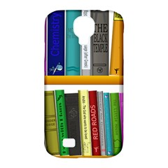Shelf Books Library Reading Samsung Galaxy S4 Classic Hardshell Case (pc+silicone)