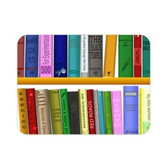 Shelf Books Library Reading Double Sided Flano Blanket (mini)