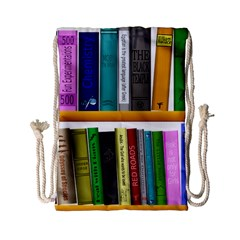 Shelf Books Library Reading Drawstring Bag (small)