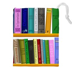 Shelf Books Library Reading Drawstring Pouches (xxl)