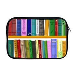 Shelf Books Library Reading Apple Macbook Pro 17  Zipper Case