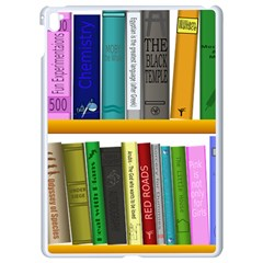 Shelf Books Library Reading Apple Ipad Pro 9 7   White Seamless Case by Nexatart