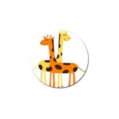 Giraffe Africa Safari Wildlife Golf Ball Marker