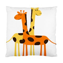 Giraffe Africa Safari Wildlife Standard Cushion Case (one Side)