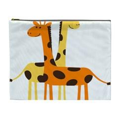 Giraffe Africa Safari Wildlife Cosmetic Bag (xl)